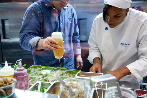 Inside Chobani's kitchen: plating up the yogurt creations