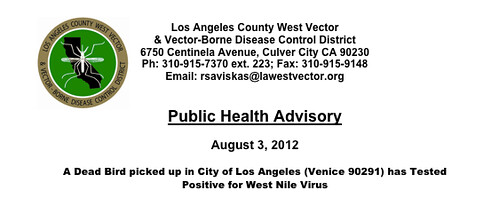 West Nile Venice Beach