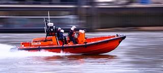 RNLI Hurley Burly Lifeboat