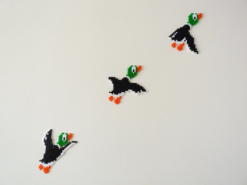 FO: Awesome Videogame Wall Art – Duck Hunt – Mimi Codd