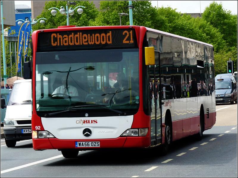 Plymouth Citybus 092 WA56OZS