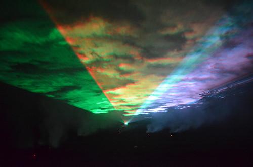 湯西川オーロラファンタジー2012
