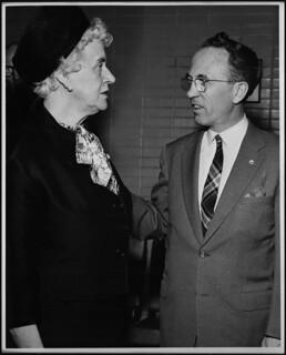 Thérèse Casgrain and Tommy Douglas, 1955 / Thérèse Casgrain et Tommy Douglas, 1955