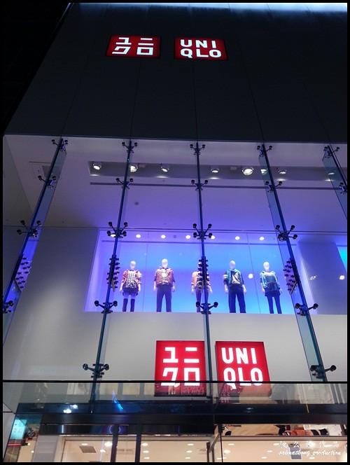 Uniqlo @ Ximending, Taiwan