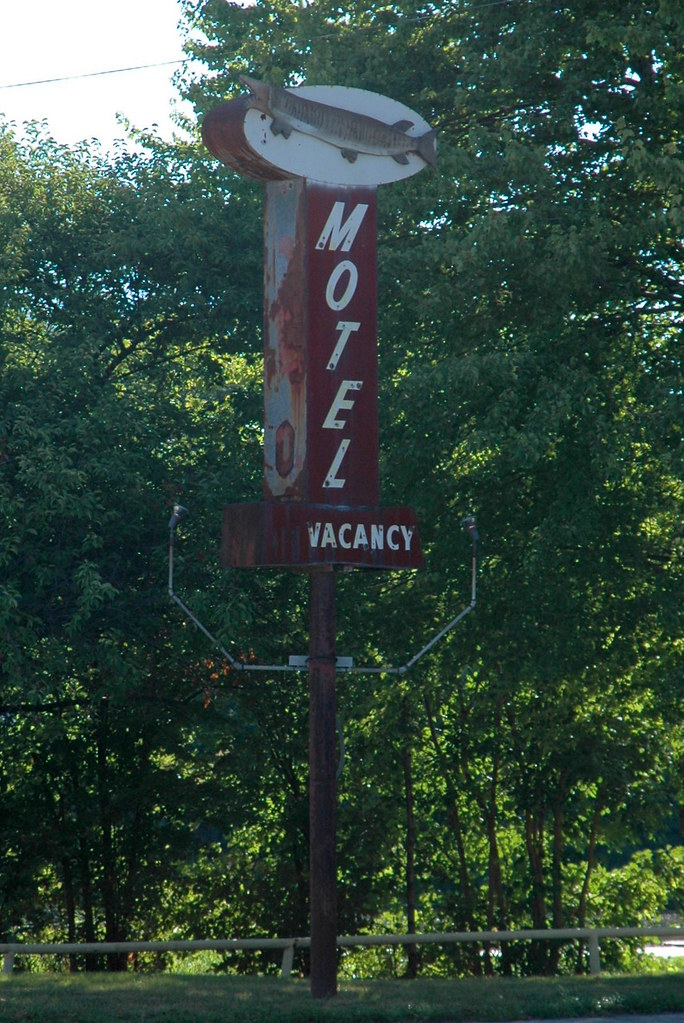 Motel Sign, Wilmington, IL