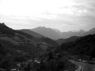 The road to Mostar