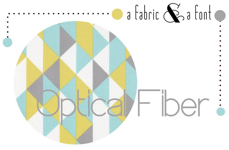 A Fabric & A Font Party Decor Inspiration: Optical Fiber + Cloud9 Simpatico On Point Minty