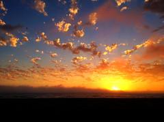 [フリー画像素材] 自然風景, 海, ビーチ・海岸, 朝焼け・夕焼け, 風景 - アメリカ合衆国 ID:201208262000