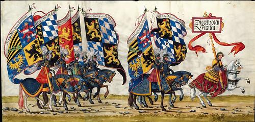 002-Triunfo del Emperador Maximiliano I…1700-Copyright Biblioteca Nacional de España