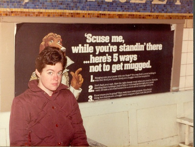 New York City Subway station (1982)