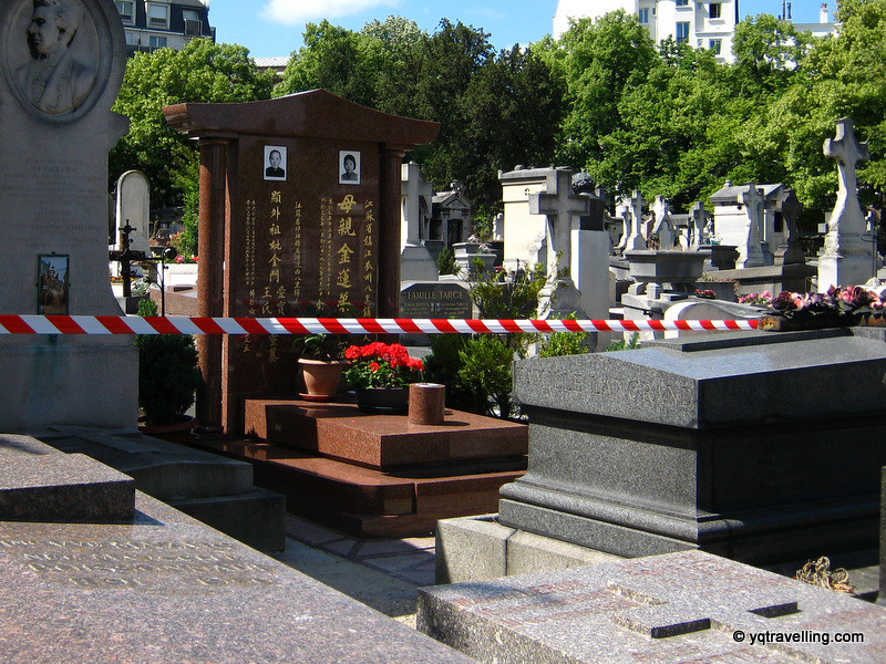 Chinese grave at Montparnasse cemetery