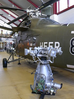 Hauptgetriebe und Sikorsky S-58