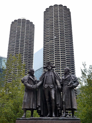 Forebears with Brutalist Towers