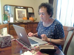 laptops and elderly
