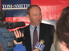 Senatorial Candidate Tom Smith at the Romney Headquarters