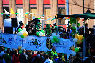 St Patricks Day parade birmingham 2014