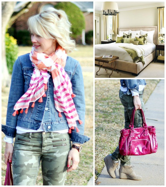 Hi Sugarplum | {Outfit Inspiration} Olive & Pink