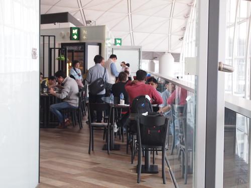 Plaza Premium Lounge 西ラウンジ @ 香港国際空港