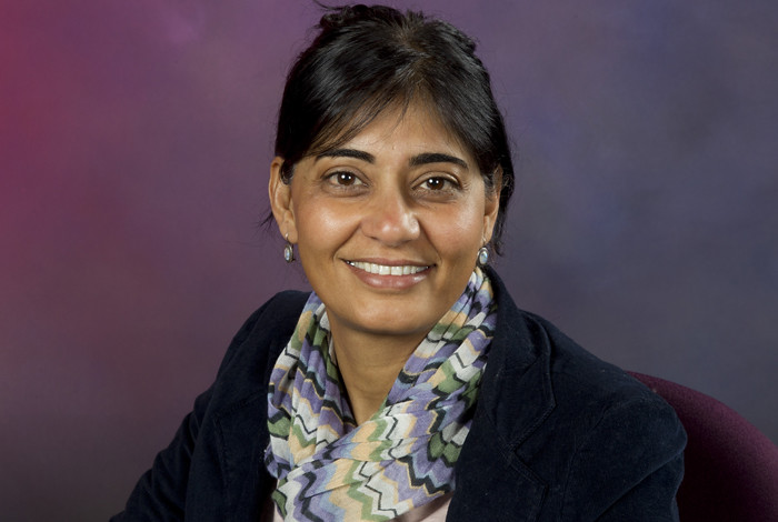 Los Alamos National Laboratory scientist Rashi Iyer leads the ATHENA organ project.