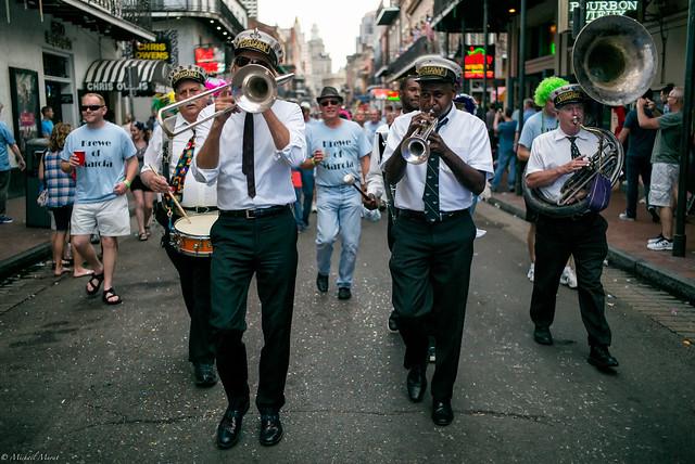 Jazz Band Leading the Way