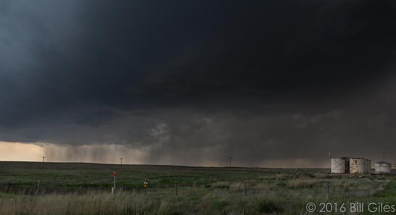 Looking east - South of Bucklin, Kansas