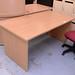 Beech cantilever desk