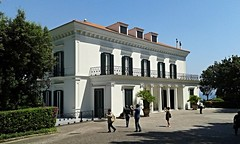 Grande Foresteria (after 1820) of Villa Rosebery in Naples - Architects Stefano and Luigi Gasse