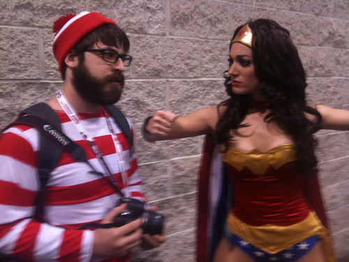 Where's Waldo Vs Wonder Woman