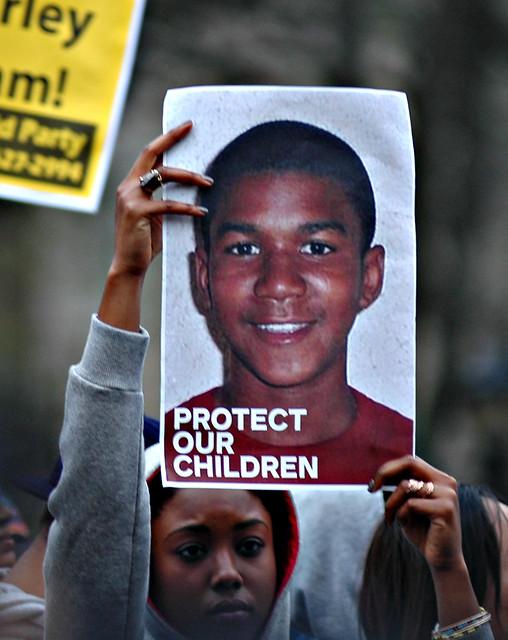 Trayvon_Martin_Occupy March 21 from Flickr via Wylio