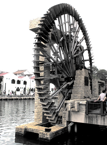 water wheel by Joelstuff V3.5