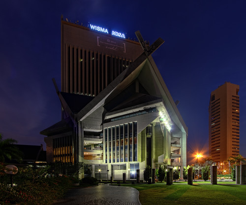 building architecture malaysia hdr selangor shahalam mbsa vertorama vedd canoneos60d majlisbandarayashahalam