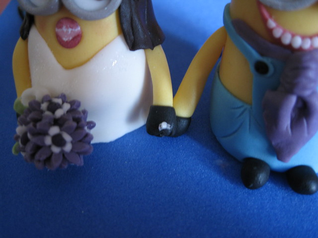Minions Minions Wedding Cake Topper