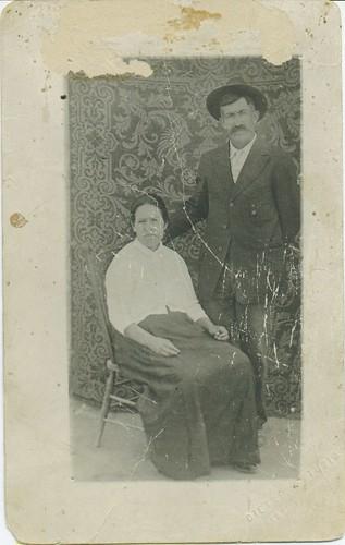 Great Uncle Manuel De La O & Bibiana Valenzuela Chavez DeLaO.