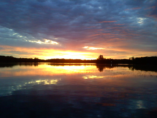 minnesota sunrise fishing
