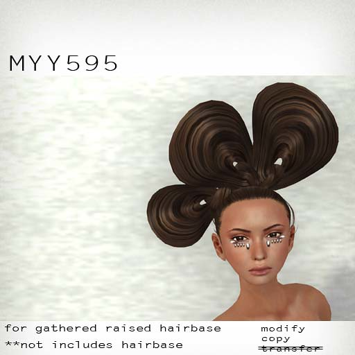 booN MYY595 hair