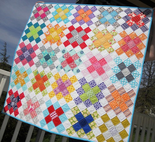 Quilt Patterns From Squares : Sew Fresh Quilts: Granny Square Quilt Block Tutorial - Part 1