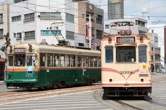 広島電鉄1900形&3000形