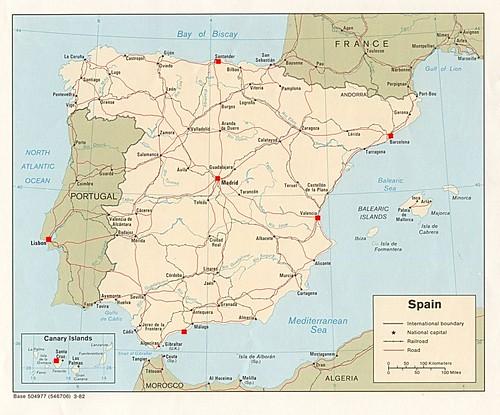 Zoo Map Spain