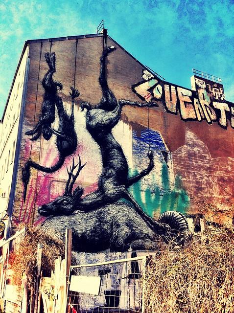 as paredes de Kreuzberg são assim
