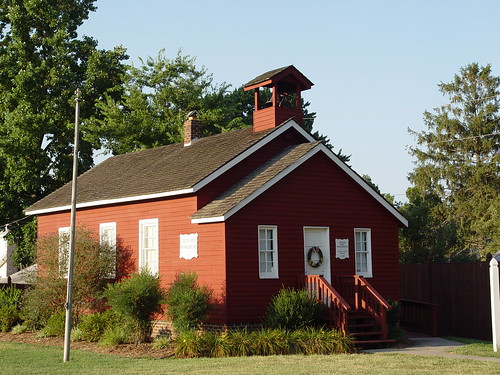 Little Red Schoolhouse, St. Clement's Island Museum, Coltons Point