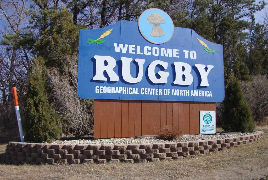 Welcome to Rugby Sign (Rugby, North Dakota)