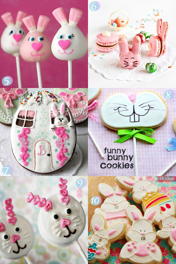 Easter Cookies, Cake Pops and Cupcakes