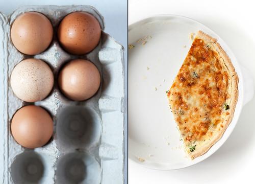 Eggs/Veggie Quiche