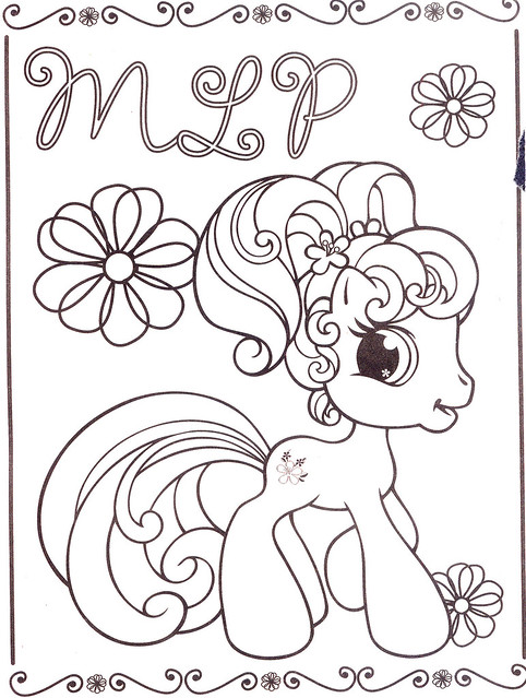 Vintage My Little Pony Coloring Pages : Coloring pages a gallery on flickr