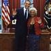 President Obama Meets Commander Uhura by roborange
