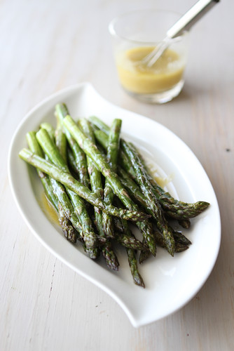 Cookin' Canuck - Roasted Asparagus Recipe with Miso Lime ...