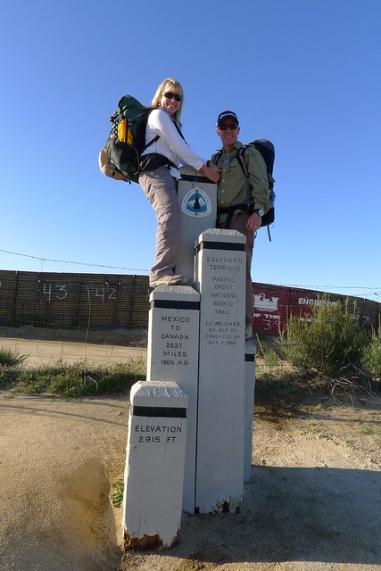 Pacific Crest Trail Southern Terminus - 2012