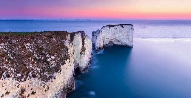 Old Harry Rocks Sunrise