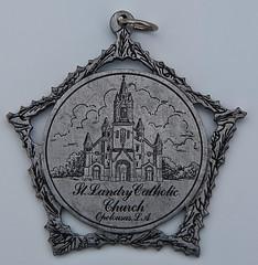 St. Landry Church Medal - April 28, 2009
