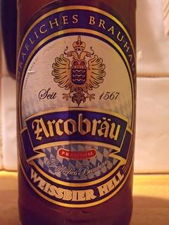 Arcobräu, Weissbier Hell, Germany